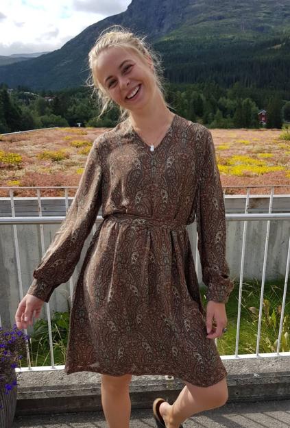 Bilde av ANEMONE KJOLE WALNUT DRESS